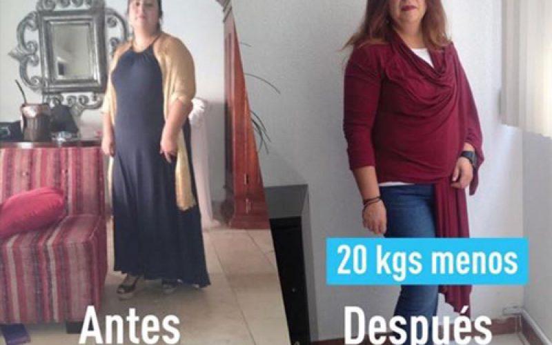 20kgs menos