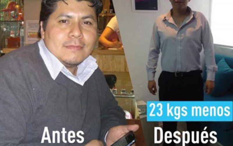 23kgs menos