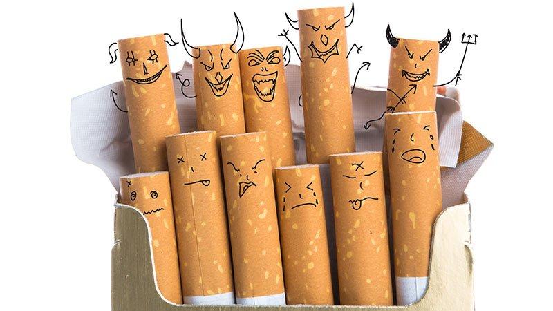 Por qué las personas que dejan de fumar suben de peso