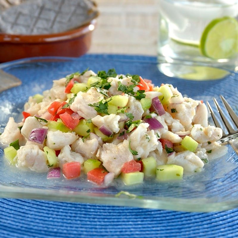 Ceviche de Pescado Light