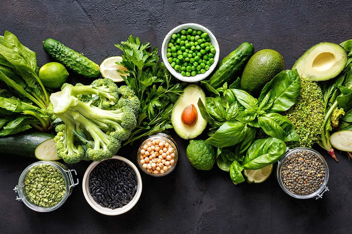 Alimento saludable en enero
