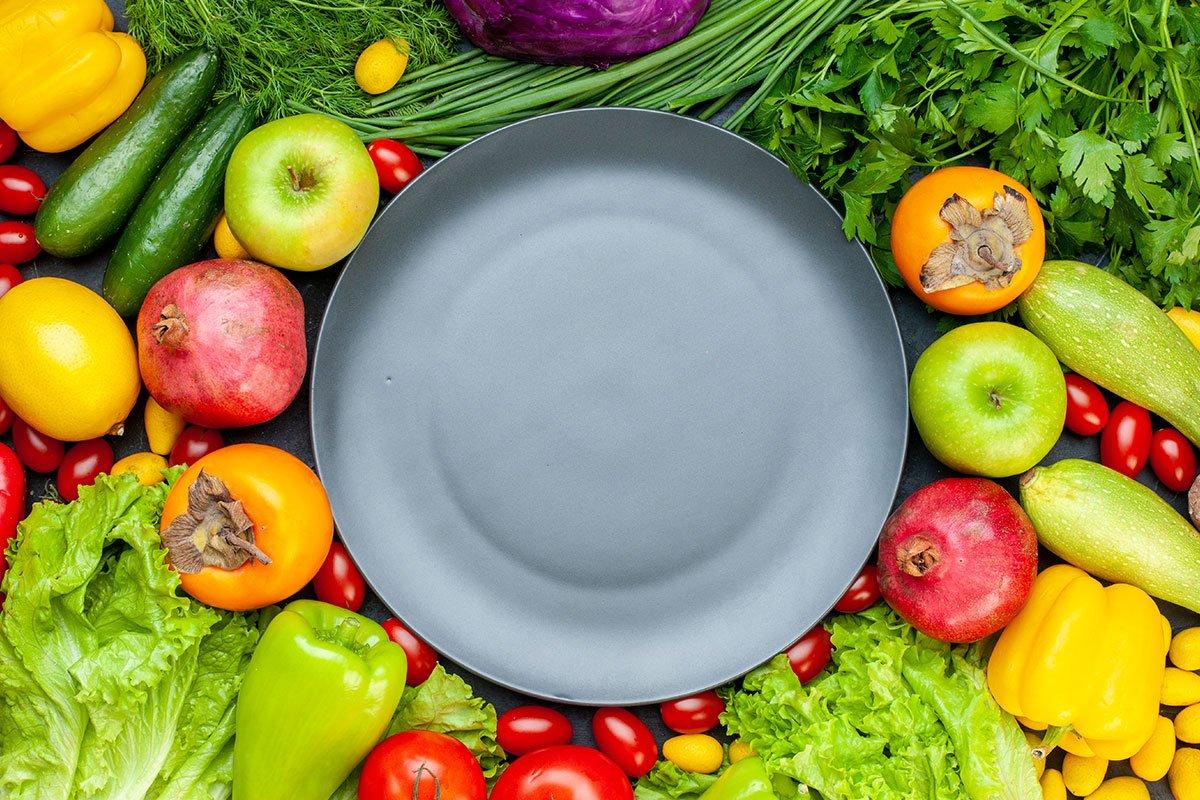 Colores en tu plato