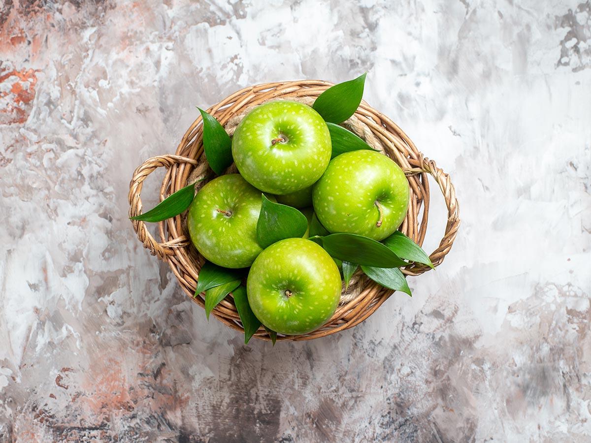 Propiedades de la manzana verde
